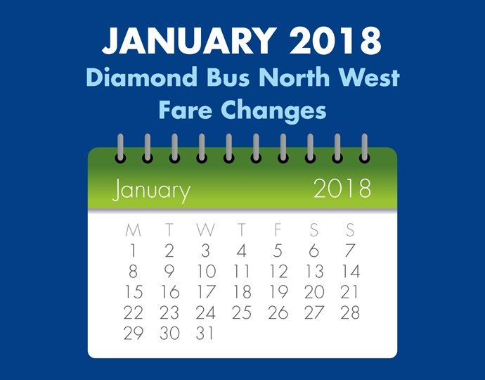 January Fare Changes NW