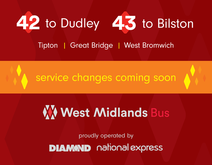 42 and 43 Service Changes